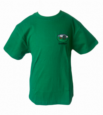 Downham P.E. T-Shirt - Green
